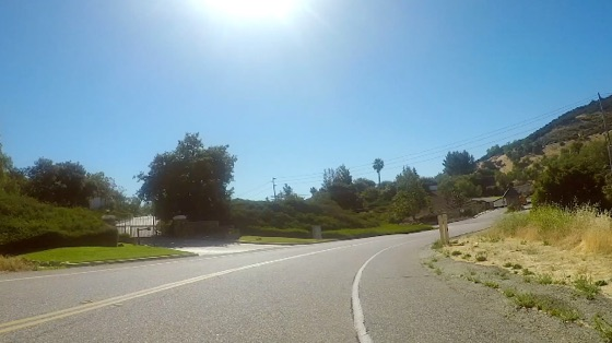 Indoor cycling training video of Santa Monica Mtns - 7 Minute Hill/Mulholland Loop