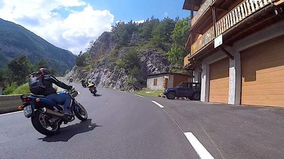 Indoor cycling training video of Col d'Izoard from Briançon