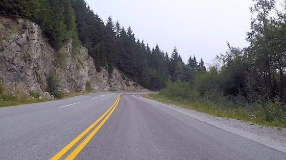Indoor cycling training video of Mt Seymour