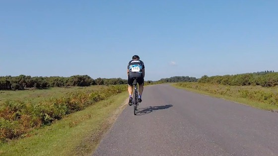 Indoor cycling training video of New Forest Sprint