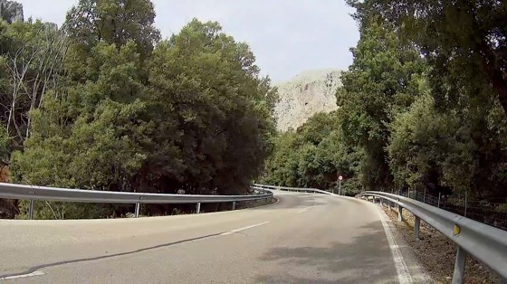 Indoor cycling training video of Puig Major to Soller