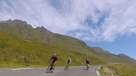 Indoor cycling training video of Col du Tourmalet - Eastern Ascent