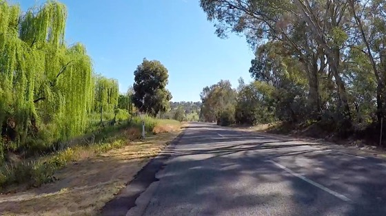 Indoor cycling training video of Warby Ranges State Park