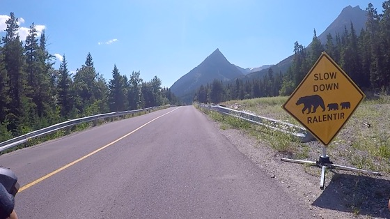 Indoor cycling training video of Akamina Parkway, Waterton National Park