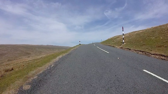 Indoor cycling training video of Buttertubs from the South