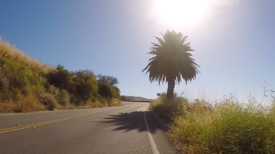 Indoor cycling training video of Santa Monica Mtns - Corral Canyon