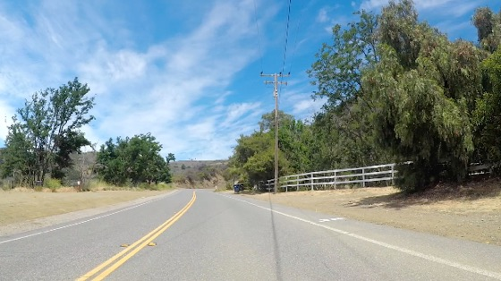 Indoor cycling training video of Santa Monica Mtns - Encinal Canyon Rd