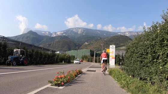 Etsch to Nals Cycle Path