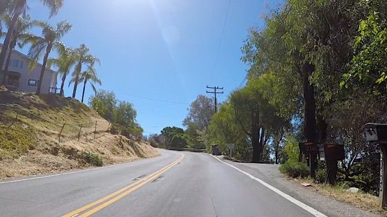 Indoor cycling training video of Santa Monica Mtns - Fernwood Pacific (Saddle Peak East)