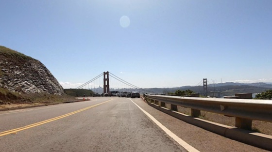Indoor cycling training video of Marin Headlands - Extended