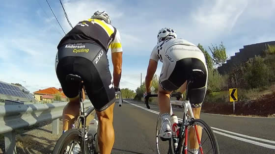 Indoor cycling training video of Norton Summit with Phil Anderson