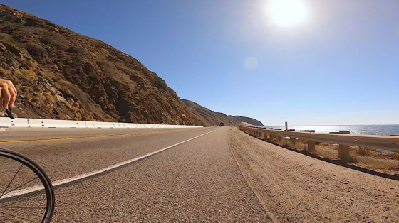 Indoor cycling training video of Pacific Coast Highway Cruise