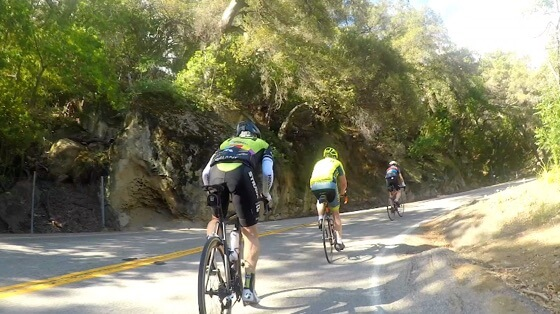 Indoor cycling training video of Santa Monica Mtns - Rockstore
