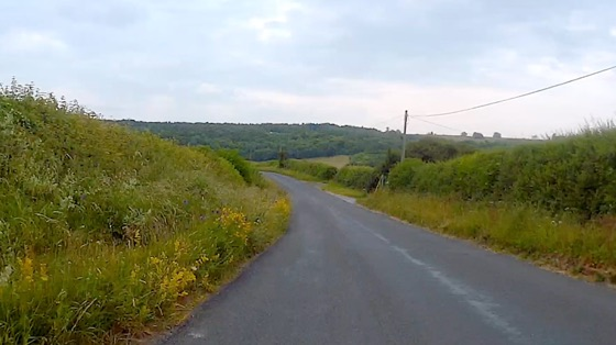 Indoor cycling training video of Whiteleaf Hill