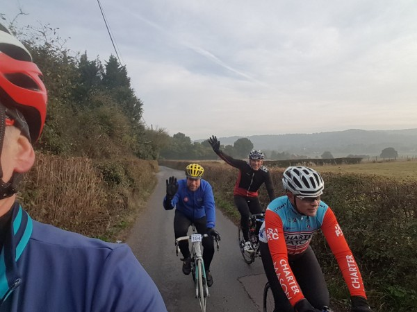 Old roads and even older friends. Riding in Kent FulGaz
